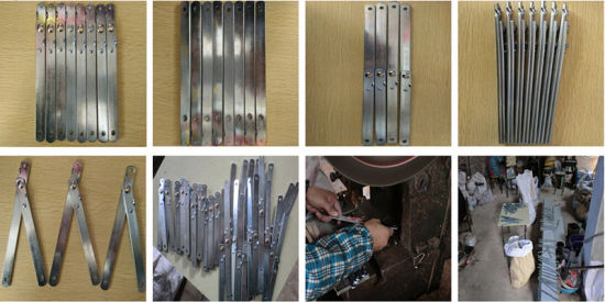 Steel Hinges / Iron Hinges of Furniture/Writing Boards (export standard)