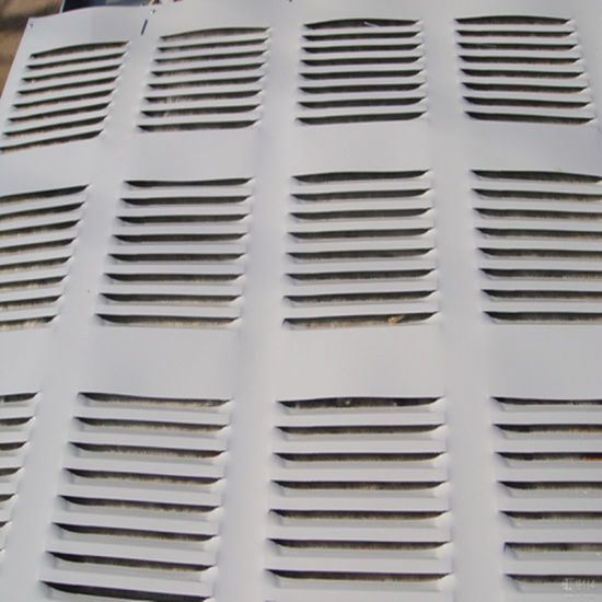 CNC Punching Sheet Steel Shutter