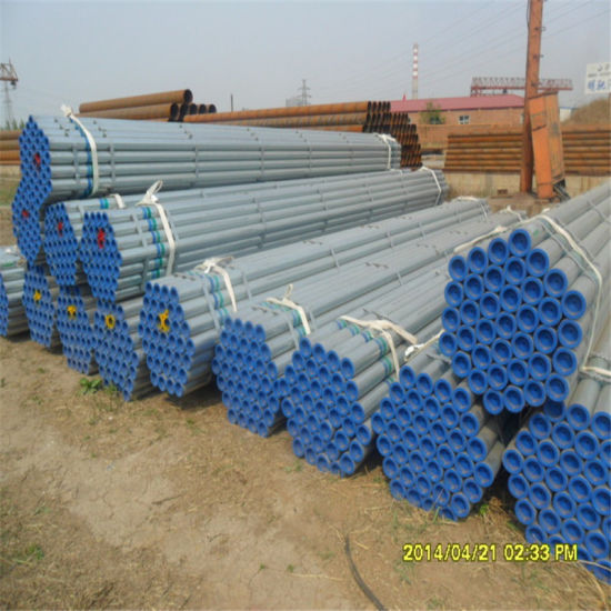 ASTM A53-Hot DIP Galvanized Steel Pipe with Cap