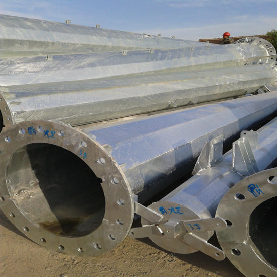Hot DIP Galvanized Electric Steel Structure Component