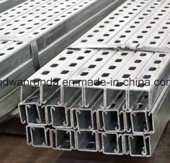 Cold Formed Galvanized C Steel