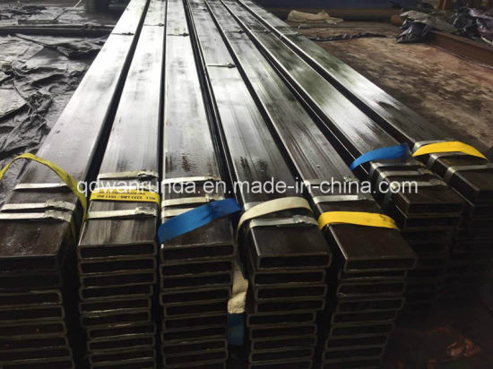 Machinery Industry Steel Tube Size 200X50X8mm