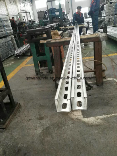 41*41/41*21 Thickness 1.5/2.0/2.5/3.0mm HDG Slotted Unistrut