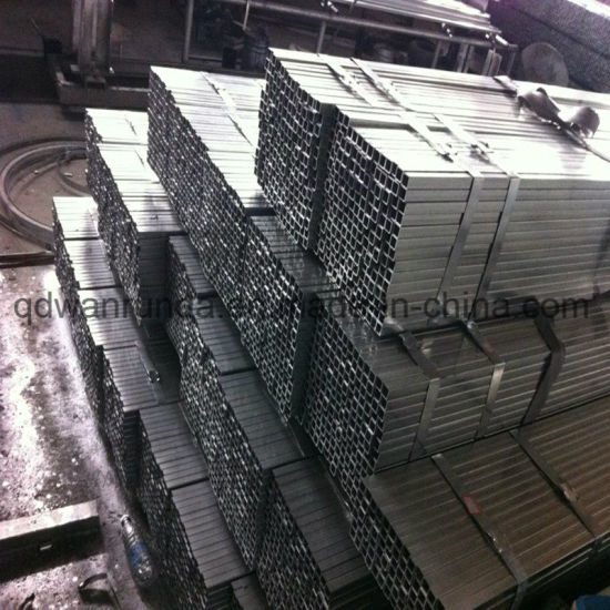 80X80mm Galvanized Steel Tube Use for Steel Structure