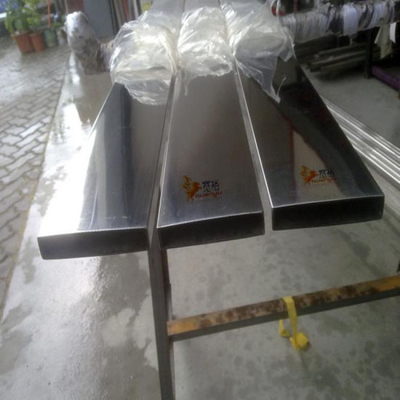 Ss201 Stainless Steel Tube Rectangular Shape