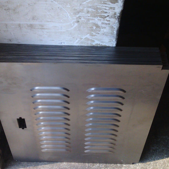 Punching Steel Shutter Door with Various Color