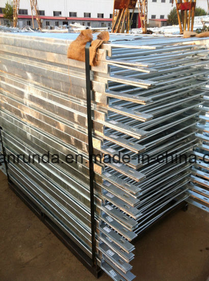Galvanized Pedestrian Barrier Which Exported to USA