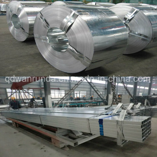 Od: 30mm Galvanized Steel Pipe for Decorative Pipes