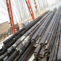 Black Surface Oval Steel Pipe for Machine Industry