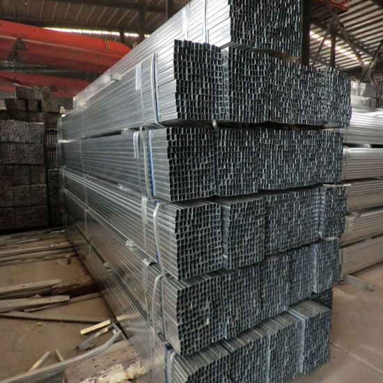 Chinese Greenhouse Galvanized Steel Tube Export to Overseas