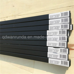 Black Colour Powder Coating Fence Leg