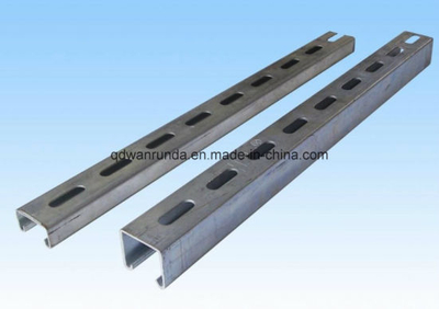 Mild Steel Slotted Support Channel Unistrut Channel