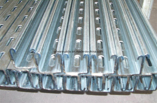 Galvanized Steel Uni Struct for Solar Energy Supporting