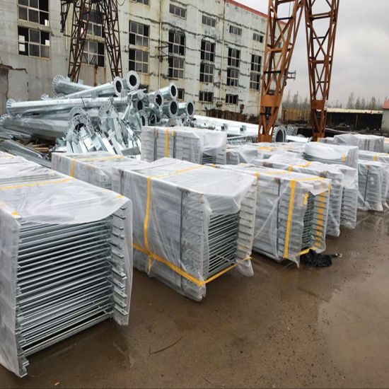 Galvanized Steel Fencing Use as Road Rail